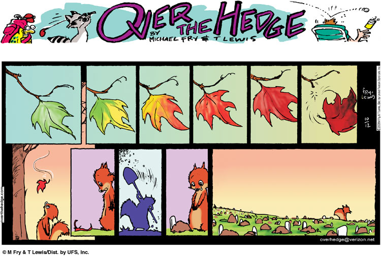 over the hedge comic