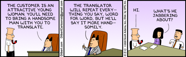 Dilbert Late To Work