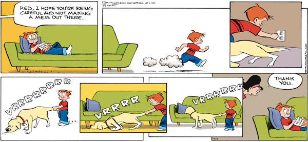 Red and Rover | The Daily Funnies