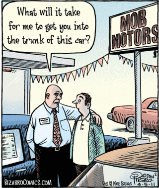 Financed Car Definition >> Bizarro | The Daily Funnies