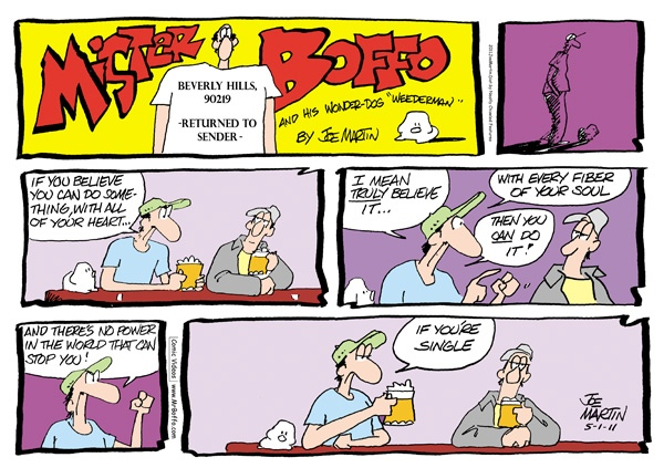 mister boffo the daily funnies